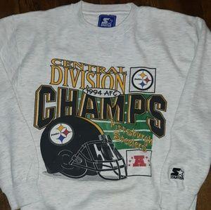 🔥VTG 90's Pittsburgh Steelers Sweatshirt🔥